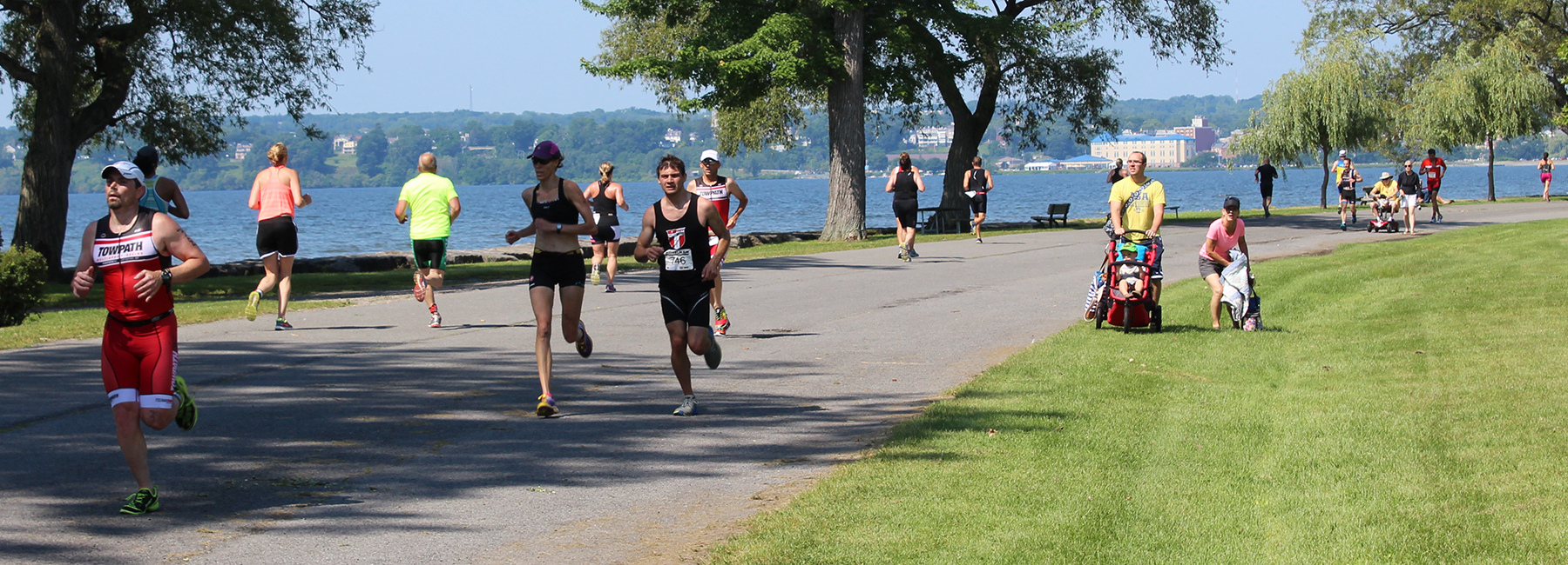 Musselman Triathlon in Geneva, NY, Photo: Dennis Angelo