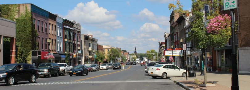 Downtown Geneva, NY, Photo: Dennis Angelo
