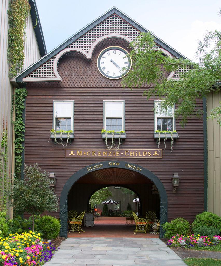 MacKenzie-Childs Head Quarters in Aurora, New York