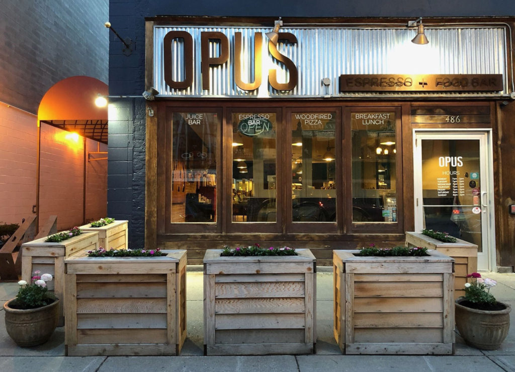 Opus Store Front