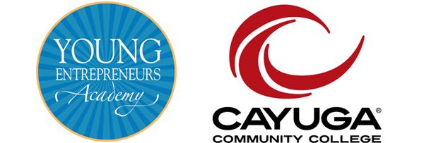young-entrepreneurs-academy-cayuga-community-college-logos